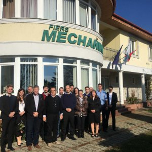 Innovation Forum: Company visit by the Fiers Mechanika Ltd.